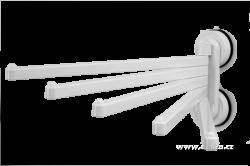 Pětiramenný otočný držák ručníků,utěrek