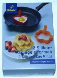 Silikonové formy na sázená vejce 2 ks
